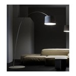 7023 - Modern White Floor Lamp