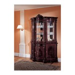 Regina Traditional Mahogany 3 Door China Cabinet