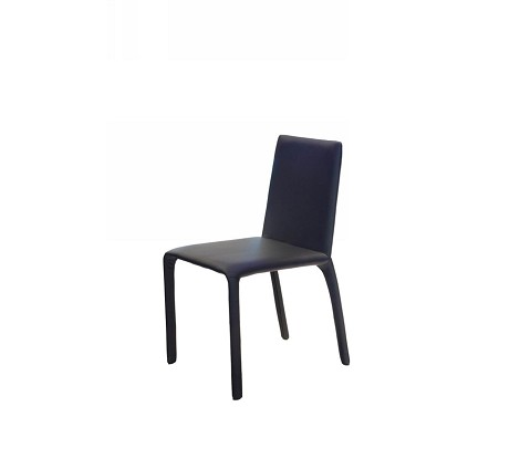 Modern Leatherette Black Chair - HY142