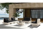 H62 - Modern Patio Sofa Set With Coffee Table