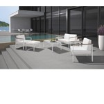 H68 - Modern Patio Lounge Set With Coffee Table