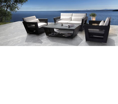 H7 - Dark Patio Set