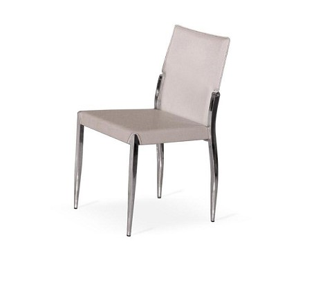 Y024 Modern white dining chair