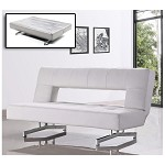 Divani Casa 0926 - Modern Fold-Out Eco-Leather Sofa Bed