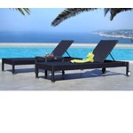 Montego Bronze Wicker Lounge Set