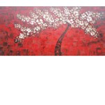 ADC7148 - Modern Red Oil painting