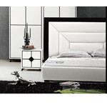 Giana - Modern Leather Tufted Bed