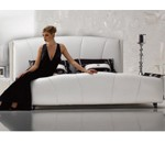 Narcissus - Modern Leatherette Tufted Bed
