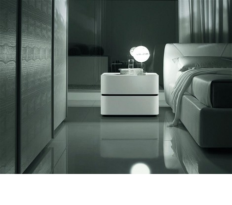 Domino - Modern Mini Nightstand