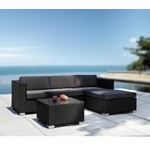 Coiba - Modern Sectional Sofa and Coffee Table