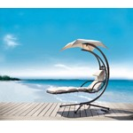 Bahama - Modern Beige Metal Dream Chair