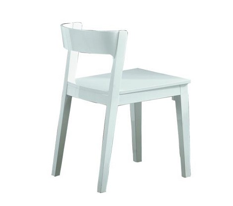 Crow - White Lacquer Chair