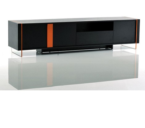Vision - Modern Glossy Floating TV Stand