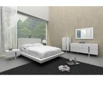 Voco - Modern White Bedroom Bed