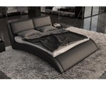 Volo - Modern Eco-Leather Bed with Curves