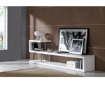 WIN 5 Modern White Lacquer TV Stand