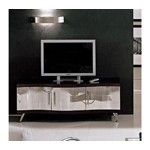 Waves Modern Espresso TV Stand