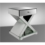 Xion - Transitional Mirrored Bedside Table