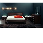 Zen 20 - Bed with Nightstands and Dresser - Made in Italy