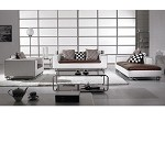 Divani Casa 334 - Modern Leather Sofa Set