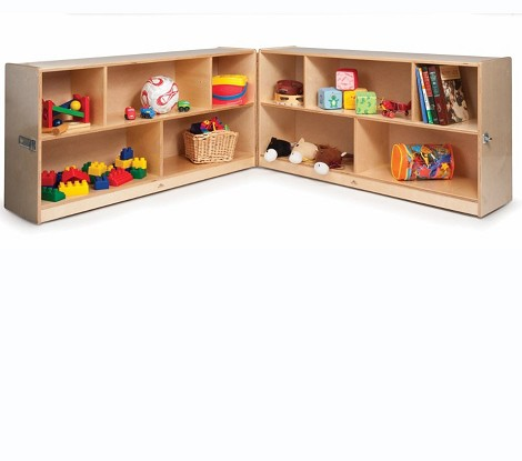 30-inch FOLD AND ROLL STORAGE CABINET
