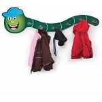 HAT-A-PILLAR COAT RACK IN GREEN