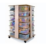 24 TRAY CUBBY TOWER