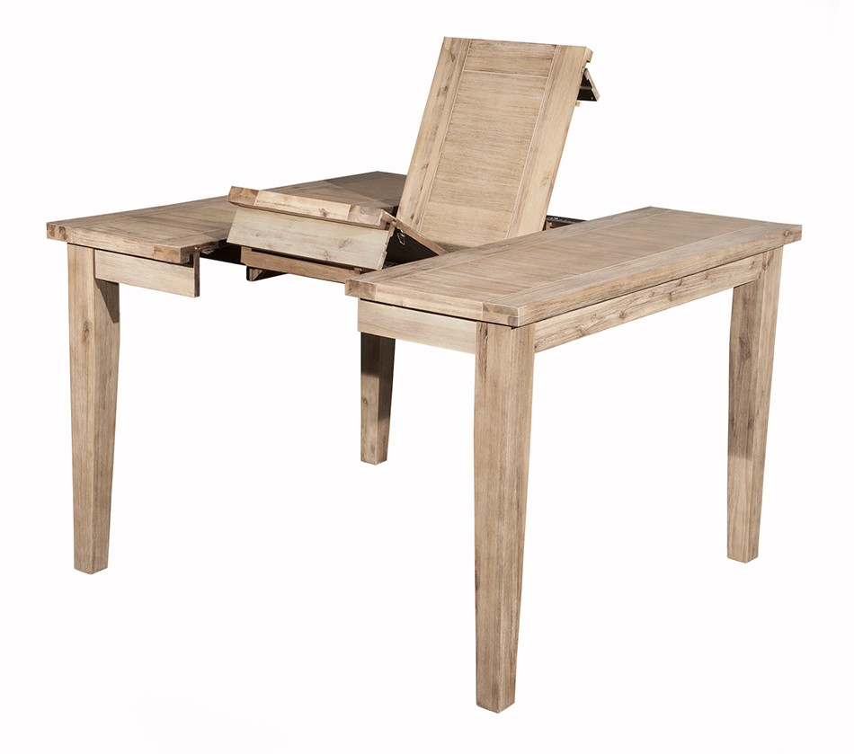 dreamfurniture  aspen extension pub table with