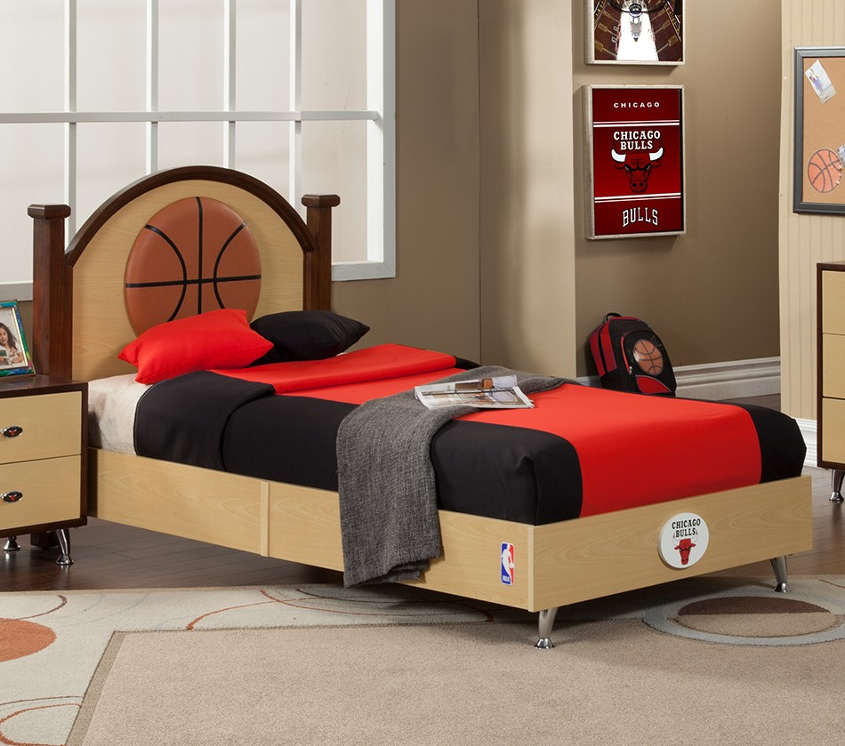 basketball bedroom furniture dreamfurniture nba basketball chicago bulls bedroom 10180