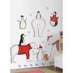 Polar Buddies Peel & Stick Megapack Wall Decals