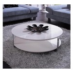 5015C - Modern White Coffee Table
