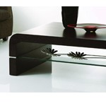 B690A - Modern Wenge Coffee Table