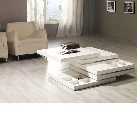 Mixx White Coffee Table