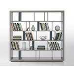 Modern Grey Lacquer Room Divider