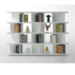Modern White Lacquer Display Unit