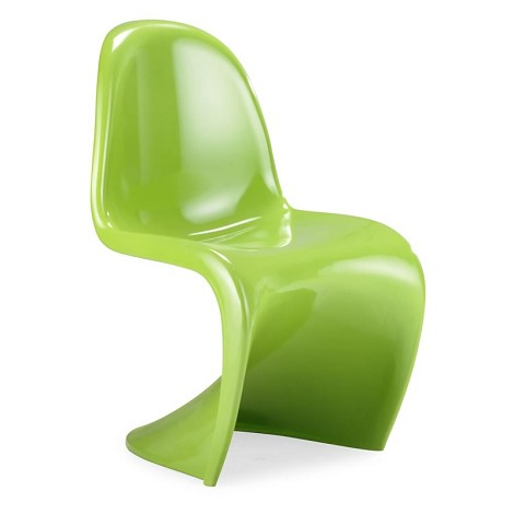S Chair Green (Set Of 2 )