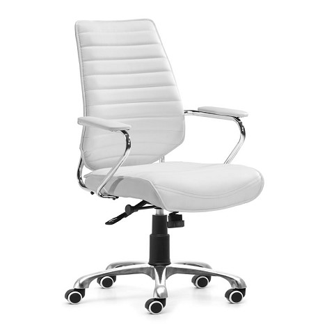 Enterprise Low Back Office Chair White