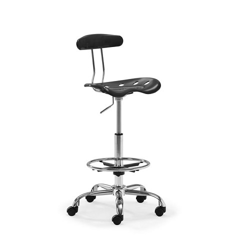 Farallon Drafters Chair Black