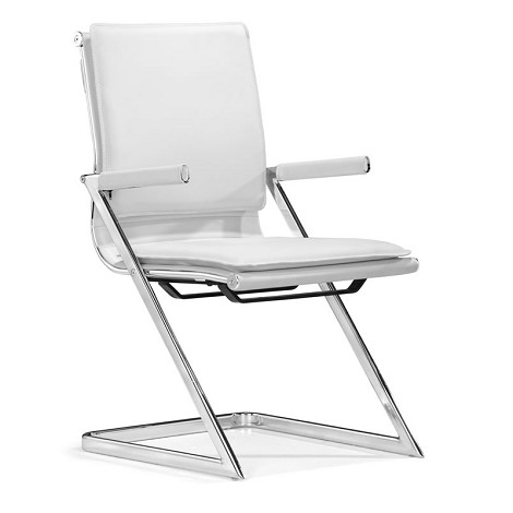 Lider Plus Conference Chair White (Set Of 2 )