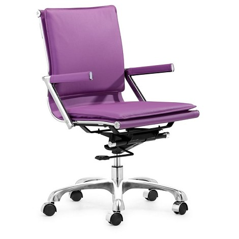 Lider Plus Office Chair Purple
