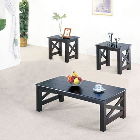 06176 3pc Pack Coffee/End Table