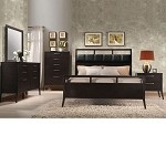 Boardwalk Wenge PU Finish Bedroom Set