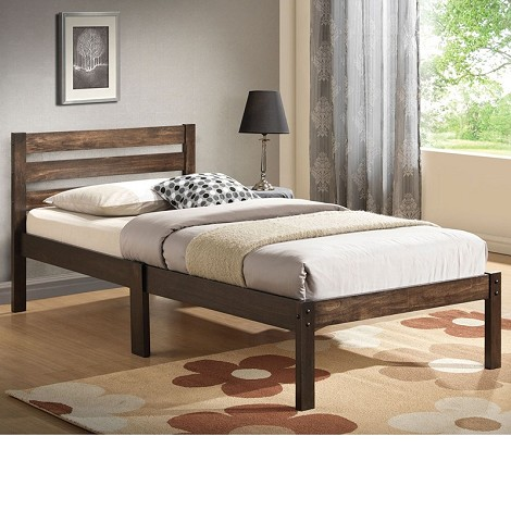 Donato Ash Brown Twin Size Bed Set