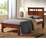 2152 Donato Capuccino Finish Twin Size Bed Set