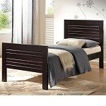 Donato Venge Finish Twin Size Bed Set