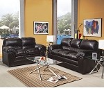 50420 Xangra Vintage Bonded Leather Sofa Set