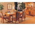 Santa Fe Leg Dining Table With Natural Slate Tiles