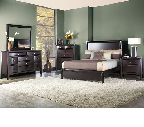 Laguna Eastern King Low Footboard Panel Bed