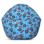 Junior Print Race Car Bean Bag 30-1011-822