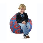 Junior Print Spider Web Bean Bag 30-1011-829